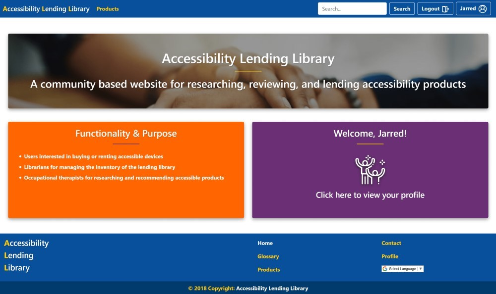 Accessibility Lending Library